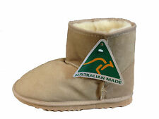 Australian Genuine Sheepskin Mini UGG Boots Beige Colour Australian Made