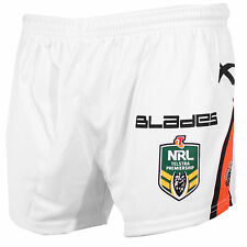 X BLADES Wests Tigers 2014 NRL Mens Players Away Short - White