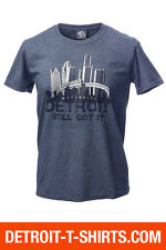 Detroit Skyline (People Mover) T-Shirt from Detroit