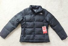 NWT Women's The North Face Chilly Morning 550 Down Puffer Jacket Black M L S XS