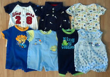Lots of Boy's 0-3 M Months One Piece Romper Outfits Carter's, Starting Out +
