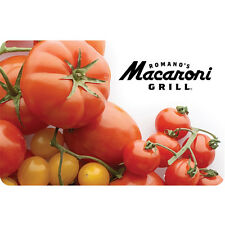 Romano's Macaroni Grill® Gift Card - $25 $50 $100 - Email delivery