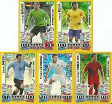 MATCH ATTAX WORLD CUP 2014 100 HUNDRED CLUB CARDS PICK WHAT YOU NEED