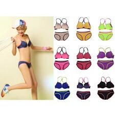 Bra and Panty Womens Sexy Cute Underwear push up Bra Set 9 Colors
