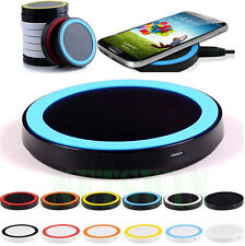 QI Wireless Charger Charging Pad for Samsung Galaxy S3 4 Note 3 2 iPhone 4 4s 5