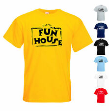 FUN HOUSE T SHIRT RETRO KIDS TV SHOW MENS GIFT JOKE FUNNY PRESENT PAT SHARP