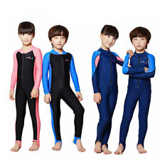 2014 Children's Lycra Wetsuit Diving Suit Long Coverall 4 Style Sunscreen UPF50