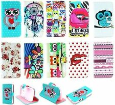 Flower PU Magnetic wallet stand cover case for Samsung Galaxy ACE Style G310