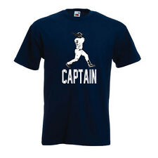 "Derek Jeter New York Yankees ""Captain"" T-shirt Onsie S-XXXXXL"