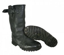 USED CZECH LEATHER POLICE BOOTS