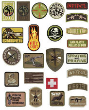 Rothco Military Combat Army Morale Patches With Hook Back