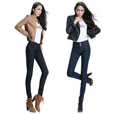 Vogue Slim Women Jeans High Waist Skinny Girl Denim Long Casual Trousers Pants