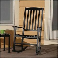NEW Indoor Outdoor Solid Wood Rocking Chair Seat Porch Deck Rocker CHOOSE COLOR