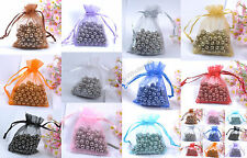 Laxury Organza Gift Bag Jewelry Packing Pouch Wedding Favor Gift Bags Any Color