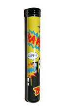 e cig case Comic Book CASE FOR ELECTRIC ELECTRONIC CIGARETTE Fits EGO EVOD ecig