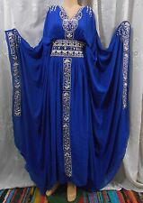 ( 2 SIZES ) NEW DUBAI STYLE,ABAYA,JILBAB,THOB,KAFTAN KHALEEJI,DRESS,COSTUME