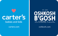 Carters Oshkosh Gift Card
