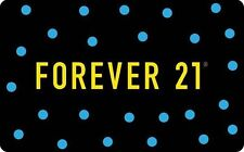 Forever 21 Gift Card - $25 $50 $100 - Email delivery