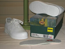 SAS Womens White Freetime Leather Oxford Shoes NEW IN BOX