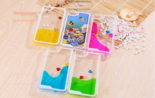 Freely Swimming Fishes Movable Hard Case Cover Skin for Apple iPhone 5 5S 4 4S