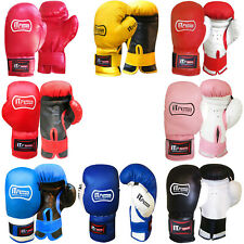 Junior Boxing Gloves Grappling PunchBag Mitts Children / Kids Gloves 4,6,8 OZ