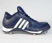 Adidas Excelsior 6 Mid Dark Blue & White Metal Baseball Softball Cleats Mens NEW