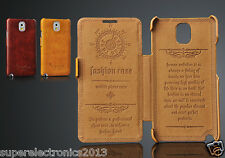 High Quality Flip Leather Fashion Book Case for Samsung Galaxy Note 3