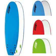 Softech 7'6 Mini Mal Softboard - Soft Surfboard With Free Fins From FCS