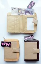 *NEW* FLIRT LADIES GIRLS canvas purse Brown or Tan *Fast Worldwide delivery*