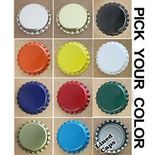 100 Lined Bottle Caps Bottling Beer Home Brew FREE SHIPPING!!!