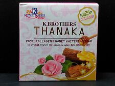 """""""K.BROTHERS""""NATURAL HERBAL ROSE COLLAGEN&HONEY WHITENING SOAP WITH FREE SHIPPING"""