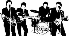 THE BEATLES Vinyl Wall Art Sticker Decal bedroom living room study kitchen car