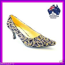 Womens shoes, kitten high heels, pumps with low heels, large size womens shoes