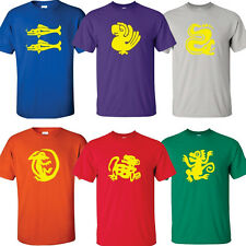 Legends of the Hidden Temple T-Shirts Choose From All 6 Team Colors Costumes New