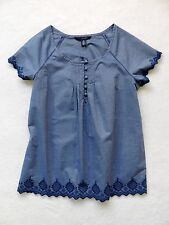 NWT TOMMY HILFIGER WOMENS CHAMBRAY SHIRT