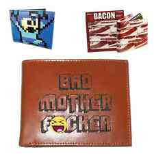 Awesome Wallets (Choose Your Style) Bad Mother Wallet Mega Man Bacon Mofo Funny