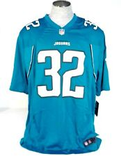 Nike NFL Jacksonville Jaguars Jones Drew 32 Short Sleeve Football Jersey Men NWT