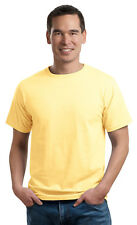 Port & Company Men's Coverseamed Neck Short Sleeve Cotton T-Shirt. PC50ORG