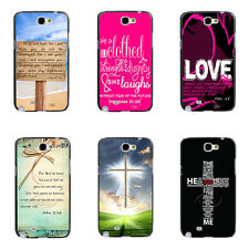 Love Jesus Cross Bible Verse Quote Hard Case for Samsung Galaxy Note2/3