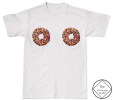 Donut Look At My Boobs Shirt Unisex Hipster Fresh Fashion Hipster Tumblr