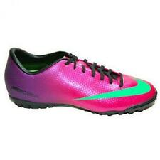 Men's Indoor Soccer Shoes NIKE MERCURIAL VICTORY IV TF purple pink 555 615 *