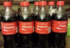 2014 Share a Coke with Personalized Names Coca-Cola 20 oz. bottles Unopened