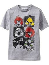 NWT Old Navy Boys Angry Birds Graphic Tees T-Shirt Collectabilitees NEW L XL