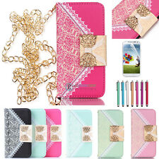 Magnetic Flip Leather Stand Wallet Case Cover For Samsung Galaxy S3 S4 S5 SIV SV