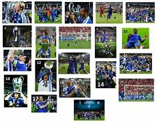Chelsea FC - Champions League Winners 2012 - A4/A3  Photo Print Selection