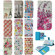 Luxury Wallet Leather Flip Stand Case Cover For Samsung/iPhone/Nokia/LG/HTC/Sony