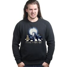 Nightmare Before Christmas on Abbey Road Halloween Sweatshirt Hoodie P957
