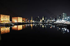 Liverpool's Famous Albert Dock Night Capture Photography, Liverpool's Waterfront