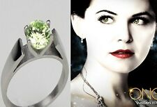 Replica of Snow White Mary Margaret Green Engagement Ring from Once Upon a Time