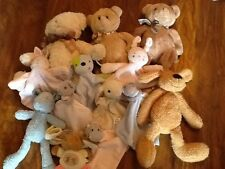 Tesco soft toys comfort blankets soother teddy bears cuddle me baby